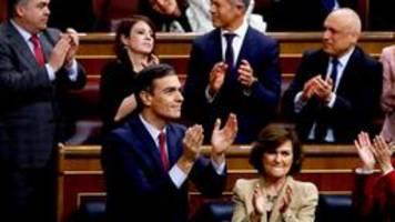 spanien: sánchez zum regierungschef gewählt