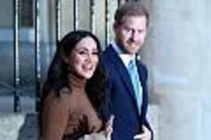 Royals im News-Ticker - Harry und Meghan wollen sich von royalen Pflichten zurückziehen