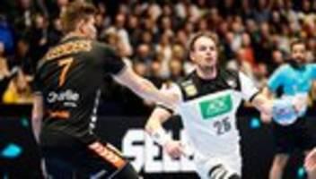 Handball-EM: Deutschland startet mit Sieg gegen die Niederlande