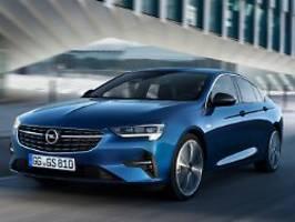 Neue Motoren, neues Licht: Opel fährt gelifteten Insignia vor