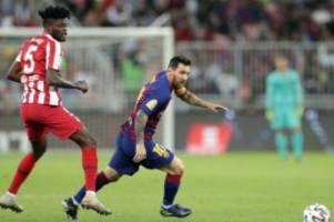 Sieg gegen Barça: Atlético gewinnt zweites Halbfinale des spanischen Supercups