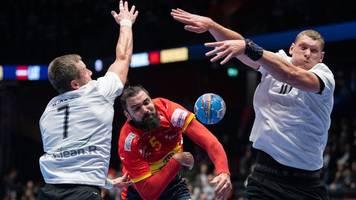 Sieg gegen Lettland: Titelverteidiger Spanien gewinnt Auftakt bei Handball-EM