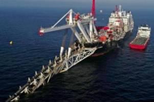 gaspipeline: putin: us-sanktionen verzögern nord stream 2