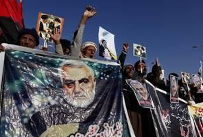 """""""er hatte vor, die us-botschaft in bagdad zu sprengen"""": trump rechtfertigt tötung von generalsoleimani"""