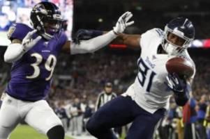 American Football: Selbst geschlagen: NFL-Titelfavorit Baltimore schon raus