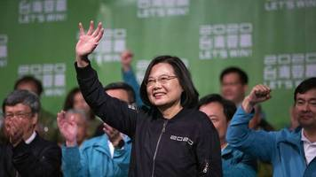 votum gegen annäherung - nach taiwan-wahl: china bekräftigt machtanspruch