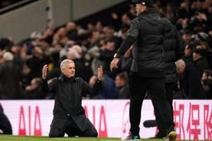 auch mourinho verzweifelt an klopp - reds holen rekord