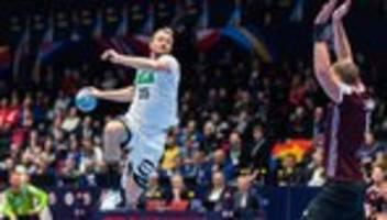 Handball-EM: Nur wer friert, zittert mehr