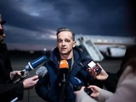 Bundeswehr-Mission in Nahost: Maas sucht Antworten in Amman