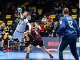 Deutsche Handballer zittern sich in die EM-Hauptrunde