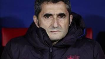 Setién neuer Barça-Chefcoach: FC Barcelona wirft Trainer Valverde raus