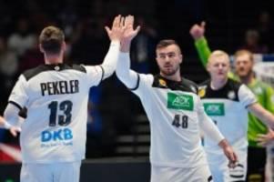 Handball-EM: Deutsche Handballer zittern sich in die EM-Hauptrunde