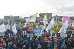 Agrar: Protest für klimagerechte Landwirtschaft