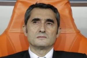 Primera Division: Medien: Barça-Trainer Valverde droht baldiger Rauswurf