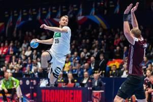 Deutschland zieht bei Handball-EM in die Hauptrunde ein