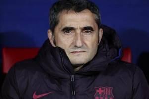 FC Barcelona wirft Trainer Valverde raus
