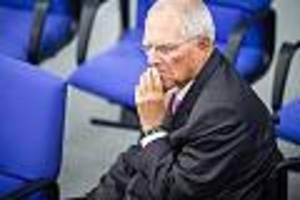 hate speech und drohungen - gegen hass im netz: schäuble fordert klarnamenpflicht für internetnutzer