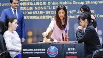 iranische schiedsrichterin bei schach-wm: dann eben ohne kopftuch