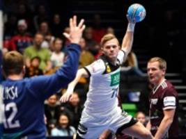 Handball-EM: Deutsche Handballer zittern sich in die Hauptrunde