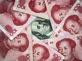 Währungsmanipulator China: USA ziehen Beschuldigung zurück