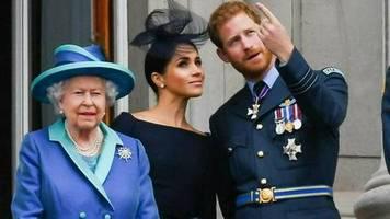 Prinz Harry und Herzogin Meghan: Warum hat die Queen ihre Titel weggelassen?