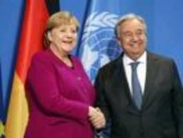merkel lädt für sonntag zu internationalem treffen in berlin ein