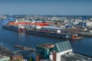 Wirtschaft: Riesenauftrag für die Hamburger Werft Blohm+Voss