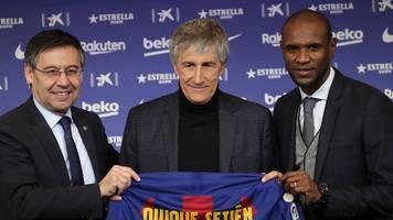 Valverde-Nachfolger: Neuer Coach Setién will mit Barça alles gewinnen