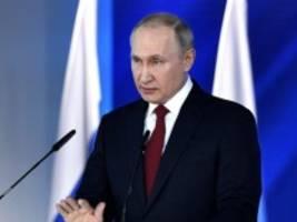 russland: putin schlägt referendum über verfassungsänderungen vor