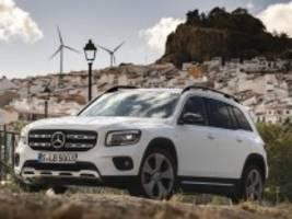 Test Mercedes GLB: Es geht auch eine Nummer kleiner