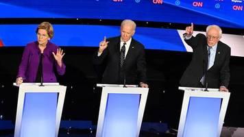 TV-Debatte der Demokraten: Warren gegen die alten, weißen Männer: Das Thema Sexismus hat den Wahlkampf voll erreicht