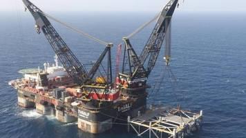 Leviathan-Gasfeld: Israelischer Erdgas-Export nach Ägypten hat begonnen