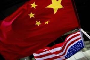 Entspannung in Sicht?: China und USA wollen erstes Handelsabkommen unterzeichnen