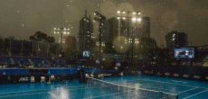 Australian Open: Gewitter fegt Melbourner Luft sauber