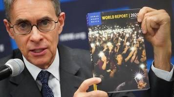 menschenrechtsorganisation: human rights watch prangert chinas Überwachungssystem an