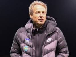 Bundesliga: Klinsmann fehlt gültige Trainer-Lizenz