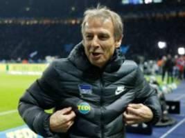 Klinsmann bei Hertha BSC: Schwarzfahrt auf der Trainerbank