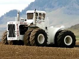 Power für den Bauern: Die stärksten Traktoren der Welt