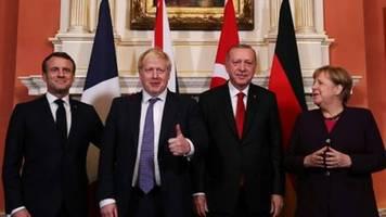 macron und johnson nehmen an libyen-konferenz in berlin teil