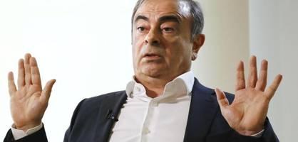 Mit diesem Trumpf will Ghosn Rache nehmen
