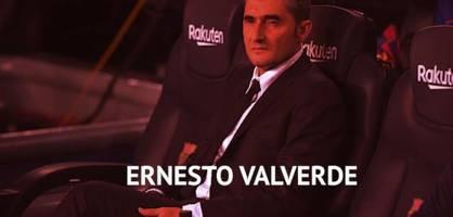 valverde, kovac & co.: diese trainer mussten gehen
