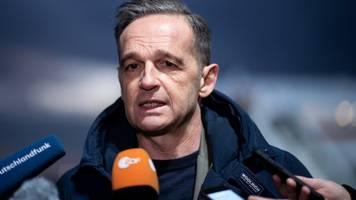 Treffen in Bengasi - Maas: General Haftar zu Waffenruhe im Libyen-Konflikt bereit