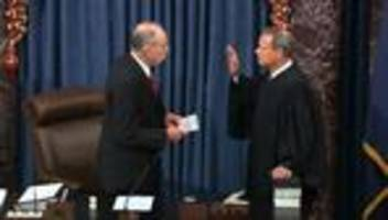Amtsenthebungsverfahren: Prozess gegen US-Präsident Donald Trump beginnt