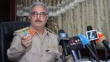 Heiko Maas: General Chalifa Haftar zu Teilnahme an Libyen-Konferenz bereit