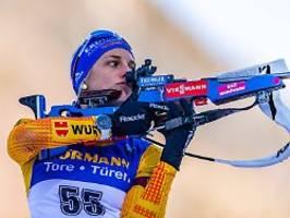norwegens biathletinnen top: vanessa hinz patzt die staffel vom podium