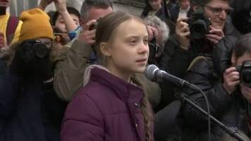 Video: Greta auf dem Weg nach Davos