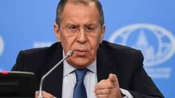 Lawrow: Entwurf für Libyen-Erklärung weitgehend fertig