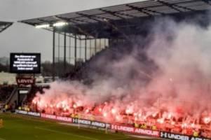 pyro-einsatz: dfb-sportgericht verhandelt einspruch von st. pauli und hsv