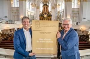 Trauer: Jan Fedder bekommt eine eigene Gedenktafel am Michel