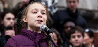 """In Lausanne richtet sich Greta Thunberg """"an die Führer der Welt"""""""